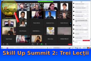 Skill Up Summit 2: Trei Lecţii